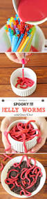Gross Cakes For Halloween by Jelly Worms With Oreo Dirt Cakescottage