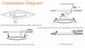 cool wiring diagram for led ceiling lights inspiring wiring ideas