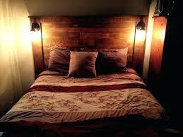 king headboard with lights light wood headboard king wood headboard bedroom magnificent leather