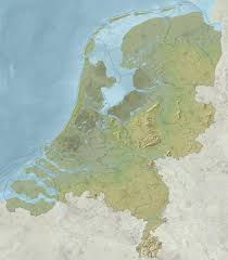 Map Of Holland Relief Map Of Netherlands Holland Netherlands Relief Map