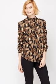 paisley blouse paisley high neck blouse just 5