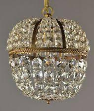 Czech Crystal Chandeliers Vintage Crystal Chandelier Ebay