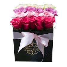 flowers in the box flowers arrangement free delivery black orchid