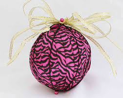 cheerful pink ornament ornaments ornaments girly