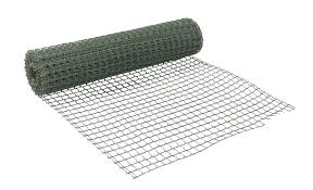 green pvc wire mesh w 500mm l 5m departments diy at b u0026q