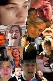 Collage Memes - crying leo leonardo dicaprio s oscar know your meme