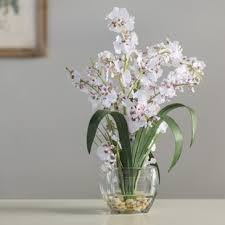 orchid arrangements white orchid arrangements wayfair