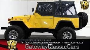 yellow jeep on beach 190 ftl 1973 toyota fj40 landcruiser 350 cid v8 4 speed manual