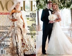 Wedding Dresses 2009 Ivanka Trump U0027s Wedding Dress What She Opted To Wear On Her Big