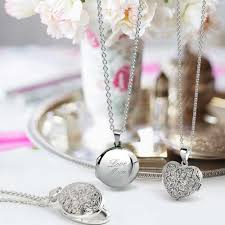 round locket necklace images Classic round 925 sterling silver locket pendant polished finish jpg