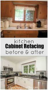 cleaning old kitchen cabinets