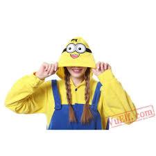 Cheap Halloween Costumes Pajamas Minions Minions Kigurumi Onesie Pajamas Costume Onesies
