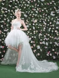 milanoo brautkleider lace brautkleider white high low sweetheart trägerlosen tutu