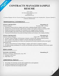 Manager Sample Resume by Contracts Manager Resume Sample Law Resume Samples Across All