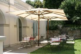 Backyard Umbrellas Large - exterior black rectangular patio umbrella patio dining with