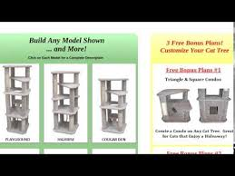 Free Diy Cat Tree Plans by Fun Cat Towers And Cat Condos You Can Build Diy Youtube