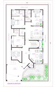 ground floor plan 1 kanal lahore pakistan png 1035 1600