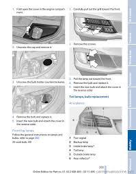 bulb bmw 535i xdrive 2011 f10 owner u0027s manual