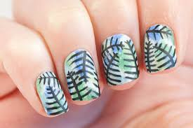 leafy nails may contain traces of polish