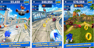 sonic dash apk sonic dash 2 0 1 modded apk unlimited rings and money