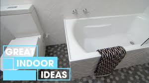 creative small bathroom makeover on a budget indoor great home