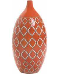 Koehler Home Decor Deal Alert Koehler Home Decor Merit Orange Vase