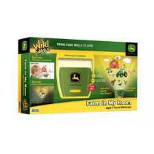 Uncle Milton John Deere Wild Walls Farm In My Room Decor Wall - John deere kids room
