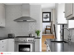 Soapstone Subway Tile East Falls Traditional Kitchen Myers Constructs Inc