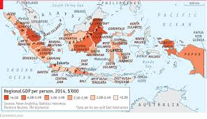Indonesia World Map by Tiger Tiger Almost Bright