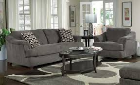 Gray Microfiber Sofa by Extraordinary Living Room Sectional Furniture Sets Using Oval Wood