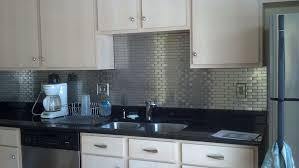 Stainless Steel Backsplash Lowes Impressive Art Interior Home - Stainless steel backsplash