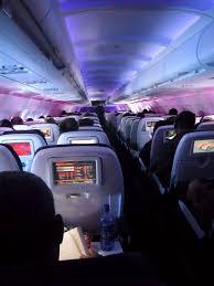 in flight entertainment ife aan boord van een vliegtuig van
