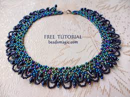beautiful beads necklace images 58 free patterns for beaded necklaces free pattern for beautiful jpg
