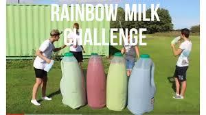 Challenge Vomit Rainbow Milk Challenge Vomit Alert