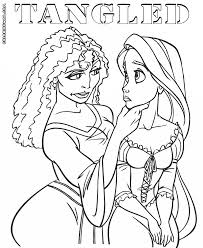 100 tangled printable coloring pages 111 best tangled