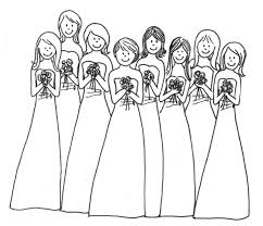 wedding coloring book coloring page of weddings coloring pages