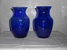 Antique Cobalt Blue Vases Cobalt Blue Vases Collection On Ebay