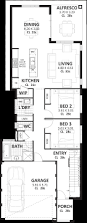 Home Design For 4 Cent by 10m Wide House Plans U0026 Home Designs Perth Vision One Homes
