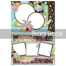 5x7 brag book digital scrapbooking kits tweet tweet 5x7 brag book jsscrap