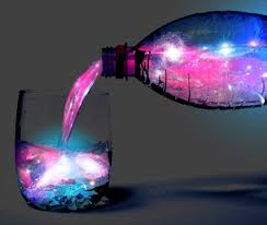 vodka tonic blacklight drink in the universe photographic art pinterest universe