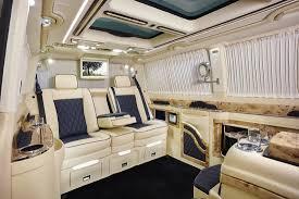 pink volkswagen van inside mercedes benz v class klassen luxury vip vans cars