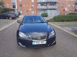 lexus gs300 for sale leicestershire lexus is 250 3850 full service history mot till july 2018
