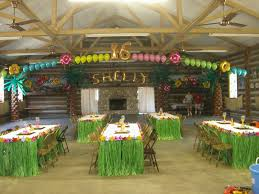interior design hawaiian theme party decorations luxury home