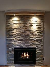 lighted fireplace mantel fireplace lighting ideas