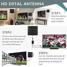 100 where to place tv bamshoot tv antenna 50 100 range digital hdtv antenna