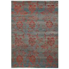 Wool Area Rugs 4x6 Tibetan Wool Area Rug With Dyes And Abrash 4x6 For Sale At