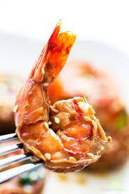 jamaican thanksgiving menu ginger sesame garlic shrimp recipe simplyrecipes com