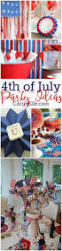 4th Of July Decoration Ideas 4th Of July Party Ideas Carrie Elle