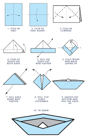How To Make Boat From Paper - paper boats my made these out of the church bulletins for us