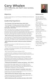 Resume Example For Teachers by Vice Principal Resume Samples Visualcv Resume Samples Database